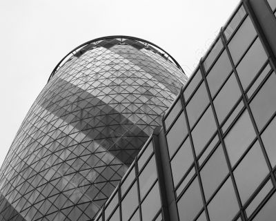Bâtiment moderne  Londres - Photo libre de droit - PABvision.com