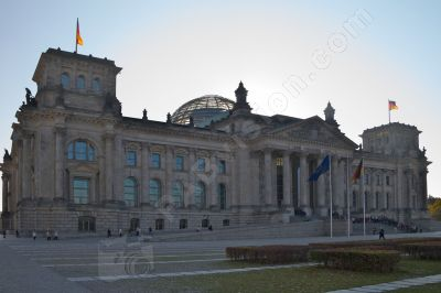 Berlin, le parlement dans l'édifice transformé du Reichstag - Photo libre de droit - PABvision.com
